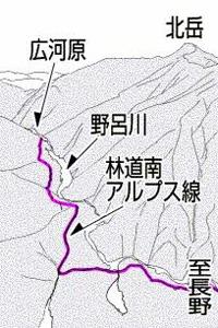 県営林道南アルプス線