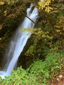 櫛形山林道 平成峡千代の滝