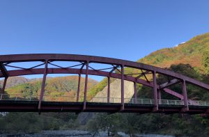芦安地区 瀬戸大橋からの紅葉 2019.11.10撮影